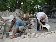Благоустройство, Соборную площадь в Евпатории вымостят гранитом