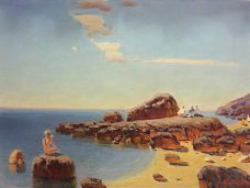 Выставка, В Симферополе представили выставку крымскотатарского художника