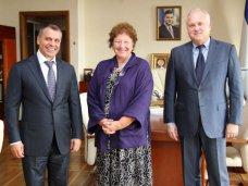 Благотворительность, Крымский спикер встретился с главой благотворительного фонда «Флорида»