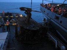 Подлодка Щ-216, Феодосийский музей получит пушку с затонувшей у Тарханкута подлодки