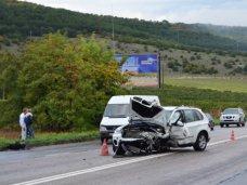 ДТП, В столкновении автомобилей возле Севастополя погиб человек