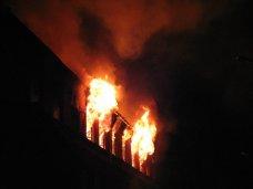 Пожар, В Симферополе на пожаре погиб пожилой хозяин квартиры