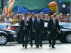 Чемпионат телохранителей, В Ялте завершился чемпионат мира по многоборью телохранителей