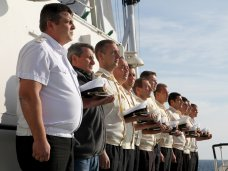 Подлодка Щ-216, В Крыму почтили память моряков, погибших на подлодке «Щ-216»