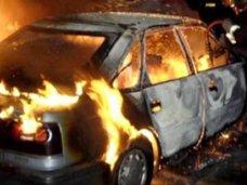 Пожар, В Ялте ночью сгорело два автомобиля