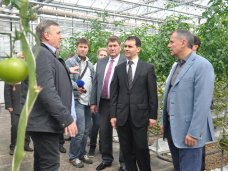 рабочий визит, Спикер Крыма посетил агропредприятия и социальные объекты Симферопольского района
