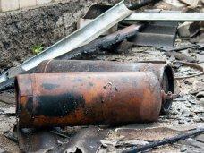 Газ, Под Алуштой взорвались два газовых баллона
