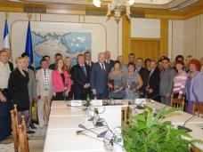 Награда, В парламенте Крыма наградили работников курортно-туристической отрасли