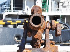 Подлодка Щ-216, Черноморскому центру подводных исследований передали поднятые со дна орудия подлодки «Щ-216»