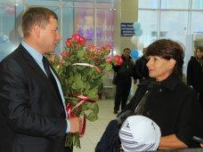 миллионные туристы, Аэропорт Симферополя принял миллионного пассажира