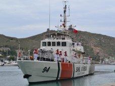 Корабль, В Севастополь прибыл корабль береговой охраны Турции