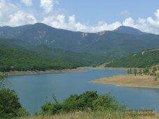 Водохранилище, Осадки в Алуштинском регионе дали совсем небольшой приток воды