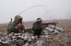 Учения, Под Симферополем проводит учения бригада береговой обороны