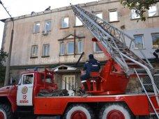 Пожар, В Гаспре из-за пожара эвакуировали 65 человек