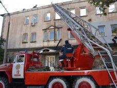 Пожар, Жителей сгоревшего дома в Гаспре поселили в санаториях