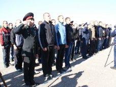 Призыв, В Крыму первые 57 призывников отправились на службу