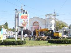 Благоустройство, В центре Симферополя на площади установят мультимедийные экраны