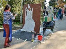 Арт-акция, В Севастополе художники России и Украины поучаствовали в проекте «Стань легендой!»