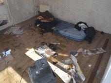 Пожар, В Севастополе спасли мужчину, курившего в постели
