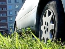 Благоустройство, В Симферополе взялись за автомобилистов, которые паркуются на газонах