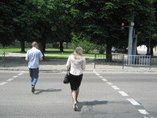 ДТП, В Крыму каждый пятый пешеход переходит дорогу неправильно