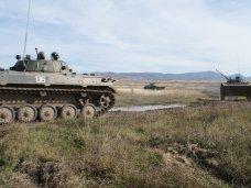 Учения, На Ангарском перевале проходят занятия по боевой подготовке