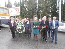 ДТП, В Алуште почтили память погибших в аварии шахтеров