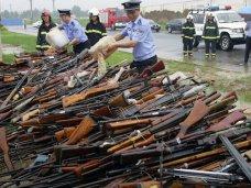 Оружие, В Крыму объявлен месячник по сдаче оружия