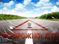 ДТП, На севере Крыма «Газель» с коровами врезалась в столб
