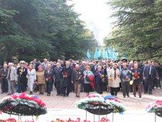 Великая Отечественная война, В Симферополе отметили годовщину освобождения Украины от фашистов