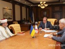 Межнациональные отношения, Могилев встретился с лидером мусульман Крыма