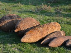 Боеприпасы, В Армянске обезврежены 52 боеприпаса времен ВОВ