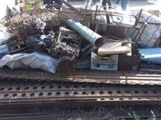 Металлолом, Житель Сак устроил дома подпольный пункт приема металла