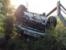 ДТП, В Симферопольском районе перевернулся автомобиль, водитель погиб