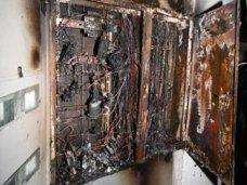 Пожар, В одной из школ Алушты замкнуло электропроводку