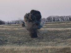 Боеприпасы, разборка боеприпасов, Взрыв бойлера, В Крыму уничтожили 127 тротиловых шашек