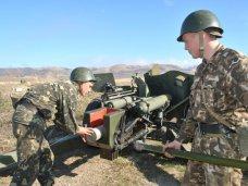 Учения, На Ангарском полигоне проходят учения артиллеристов
