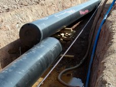 В Симферополе отремонтировали поврежденный газопровод