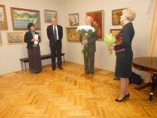 Выставка, В Алуште открылась юбилейная выставка крымского художника