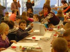 Международный книжный форум, На книжном форуме в Алуште провели мастер-классы для детей