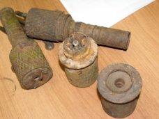 Боеприпасы, Житель Инкермана хранил дома 8 гранат времен войны