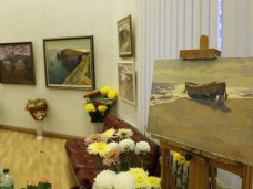 Выставка, В Симферополе открылась выставка «Под золотым небом»
