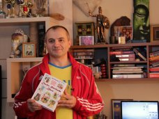 Книги которые нас воспитали, Крымский олимпиец стал участником акции «Книги, которые нас воспитали»