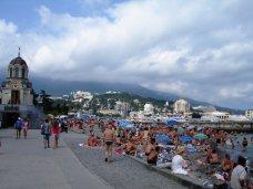 Туристы, В Крыму больше всего туристов отдыхает на ЮБК