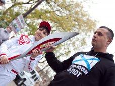 Олимпиада, В Севастополь привезли олимпийский факел