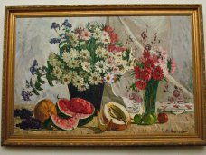 Выставка, В Севастополе открылась выставка натюрмортов