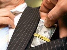 Коррупция, В Крыму чиновника поймали на взятке
