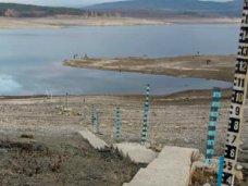 Водохранилища естественного стока в Крыму наполнены на 40%