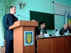 рабочий визит, Крымский спикер обсудил вопросы вступления в ЕС с керченскими студентами