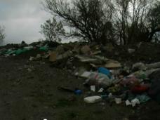 Свалка, На территории винзавода в Ялте выросла гора мусора